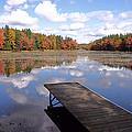 Autumn Dock by David Rucker