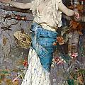 Autumn Fantasy by Emile Auguste Pinchart