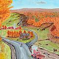 Autumn Farm by Ken Figurski