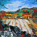 Autumn Field by Becky Kim