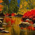 Autumn Flames by Valerie Kent