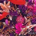 Autumn Flower Bouquet by Joseph Baril