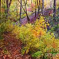 Autumn Forest by Galina Gladkaya