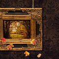 Autumn Frame by Amanda Elwell