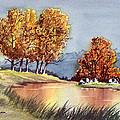 Autumn Golds by Bill Holkham