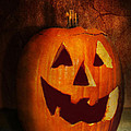 Autumn - Halloween - Jack-o-lantern  by Mike Savad