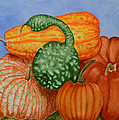Autumn Harvest by Rhonda Leonard