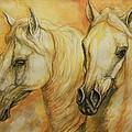 Autumn Horses by Silvana Gabudean Dobre