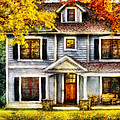 Autumn - House - Cottage  by Mike Savad
