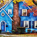 Autumn - House - Little Dream House  by Mike Savad