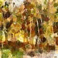 Autumn Impression 1 by Dragica  Micki Fortuna