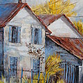 Autumn In La Garde by Cathy MONNIER