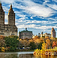 Autumn In New York City by Claudia Kuhn