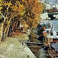 Autumn In Paris by Dragica  Micki Fortuna