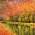 Autumn In Provence by Dominic Piperata