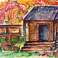 Autumn In The Backwoods by Elaine Duras