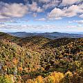 Autumn In The Blue Ridge Mountains by Carol VanDyke