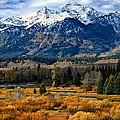 Autumn In The Tetons by Brian Kerls