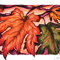 Autumn Leaves by Derrick Bruno-Rathgeber