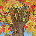 Autumn Leaves 1 by Mary Ellen Mueller Legault