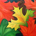 Autumn Leaves by Swapna Rajeev