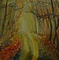 Autumn Light by Anna  Duyunova