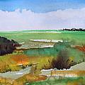 Autumn Marsh by Shelli West