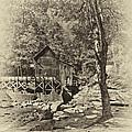 Autumn Mill 2 Antique by Steve Harrington