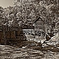 Autumn Mill Sepia by Steve Harrington
