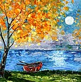 Autumn Moon by Karen Tarlton