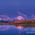 Autumn Morning Grand Tetons National Park Wyoming by Dave Welling