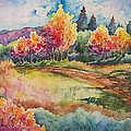 Autumn Near Taos by Michael Bulloch