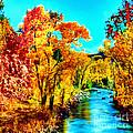Autumn Oak Creek Sedona Arizona by Bob and Nadine Johnston