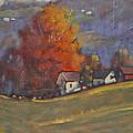 Autumn On Airyhill by Len Stomski