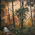 Autumn On Cannock Chase by Jean Walker