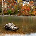 Autumn On Meramec River by Mike Davidson