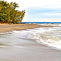 Autumn On The Beach by Frozen in Time Fine Art Photography