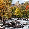 Autumn On The Esopus by Claudia Kuhn