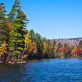 Autumn On The Fulton Chain Of Lakes In The Adirondacks IIi by David Patterson