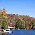 Autumn On The Fulton Chain Of Lakes In The Adirondacks V by David Patterson