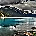 Autumn On The Lake by Florian Rodarte