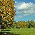 Autumn Panorama 1 by Rudi Prott