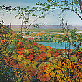 Autumn Panorama by Mary Singer