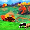 Autumn Pastures by Brad Simpson