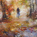 Autumn Path by Rose Sinatra