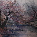 Autumn Pond  by Anna Sandhu Ray