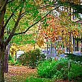 Autumn Porch by Kirt Tisdale