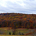 Autumn Postcard From Valley Forge by Brenda Conrad