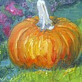 Autumn Pumpkin by Susan Elizabeth Jones