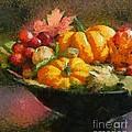 Autumn Pumpkins by Dragica  Micki Fortuna
